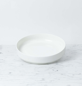 "Zangra Belgian Porcelain Serving Dish - White - 8 1/3"" x 1 1/2"""
