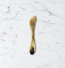 Danish Carved Horn Butter Spreader