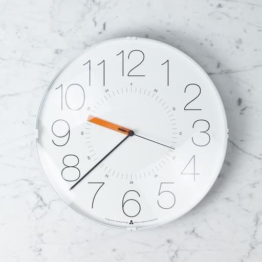 Cara Clock - White