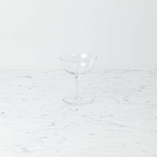 Henry Dean Handblown Coupe Glass