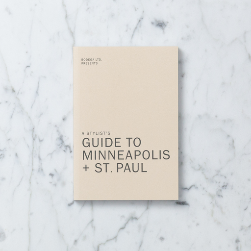 Bodega LTD A Stylist's Guide to Minneapolis + St. Paul by Liz Gardner and Bodega LTD