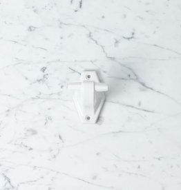 Toggle Porcelain Wall Hook - White - 3""