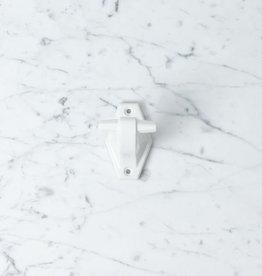 "Zangra Toggle Porcelain Wall Hook - White - 3"""