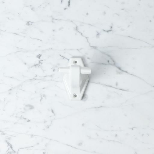 "Toggle Porcelain Wall Hook - White - 3"""