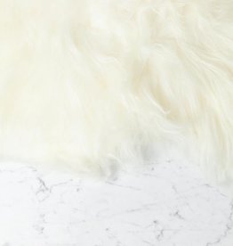 Icelandic Sheepskin - White - Long Fleece