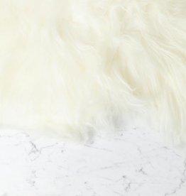 Zangra Icelandic Sheepskin - White - Long Fleece