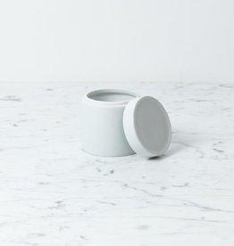 "Zangra Belgian Porcelain Storage Container - 3 x 4.25"""