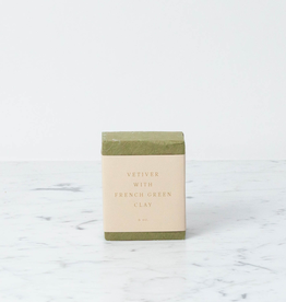 Saipua Handmade Saipua Soap - Vetiver with French Clay