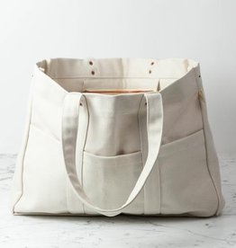Canvas Utility Tote with 7 Pockets