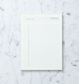 "Kartotek Simple Danish Memo Pad - A5 - 6"" x 8"