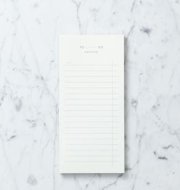 "Kartotek Simple Danish To Do Notepad - 3 3/4"" x 8"
