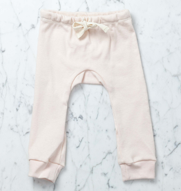Mabo Kids Organic Cotton Leggings - Blush Pink - 6 Month
