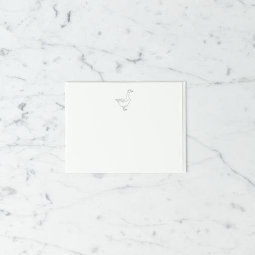 Pomegranate Press Letterpress Card and Envelope - Glorious Goose