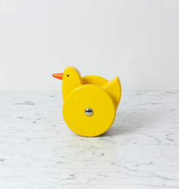 Bajo Toys Wooden Wobbling Chicken - Bright Yellow