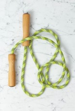 """Skipping Rope with Wood Handles - Assorted Bright Colors - 78"""""""