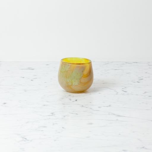 "Tiny Clovis Vessel - Dijon - Yellow - 3 1/2"""