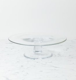 "Clothilde Glass Cake Stand - Large - 11 1/2"" x 3 1/2"""