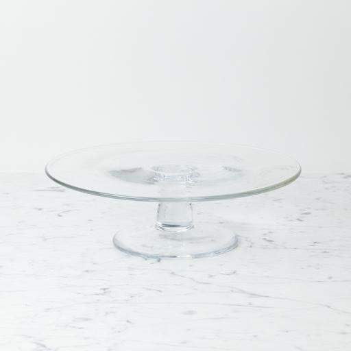 """Clothilde Glass Cake Stand - Large - 11 1/2"""" x 3 1/2"""""""
