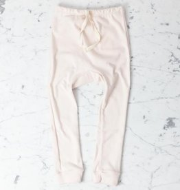 Mabo Kids Organic Cotton Leggings - Blush Pink - 4/5 Year
