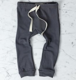 Mabo Kids Organic Cotton Leggings - Graphite - 12 Month