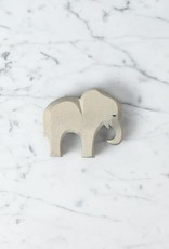 Ostheimer Toys Shy Little Elephant with Curved Trunk