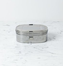 Stainless Steel Sandwich Box - Large - 2 Layer