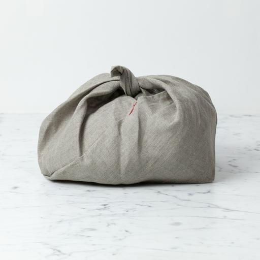 Linen Bento Bag - Natural - Medium