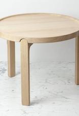 "Skagerak Danish Indskud Tray Table - Short - Untreated Oak - 14.5"" x 19"""