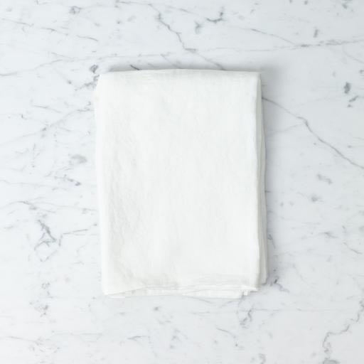 """Linge Particulier Washed French Linen Queen Pillow Case - Standard - Off White - 20"""" x 28"""""""