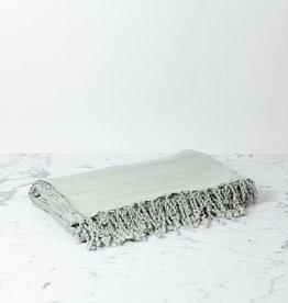 Kaya Cotton Turkish Throw - Grey - 75 x 90 in