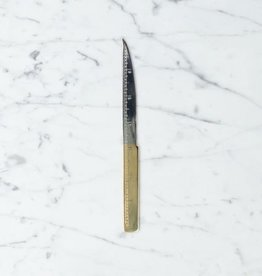 Handmade Italian Letter Opener with 24 Karat Gold Handle - 7.5 in