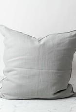 "Libeco Home Belgian Linen Napoli Down Pillow - Fog - 25 x 25"""