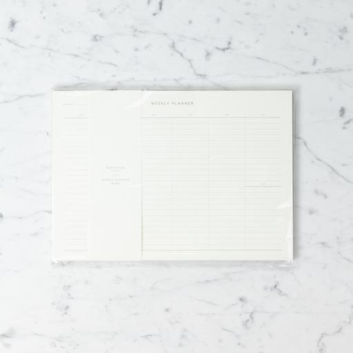 """Kartotek Simple Danish Weekly Planner Pad - Medium Grid - Blue - A4 - 8"""" x 12"""""""
