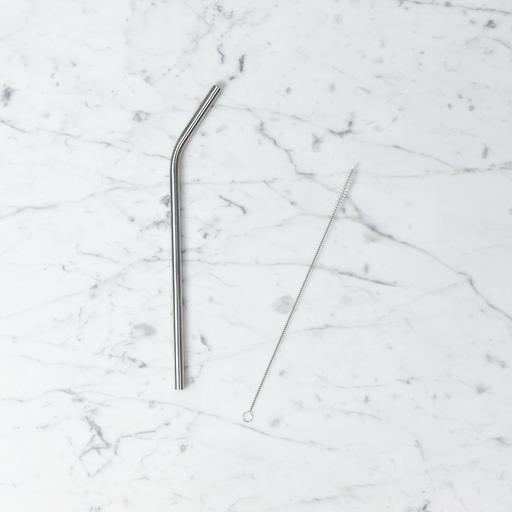 Slim Short Reusable Straw Brush