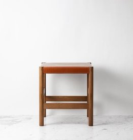 Sun at Six Juniper Stool - Solid White Oak - Sienna