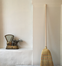 German Rice Straw Broom - 5 ft