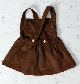 Mabo Kids Annie Pinafore - Tapenade Corduroy - 2/3 Year