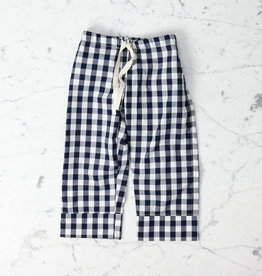 Mabo Kids Harper Gingham PJ set - Navy - 2/3 Year
