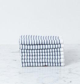 Shirt Stripe Mini Towel Washcloth - Navy Breton Stripe
