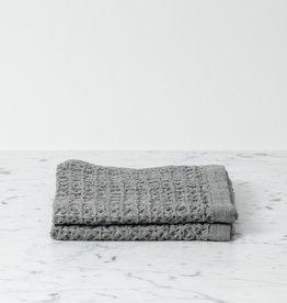 Morihata Lattice Waffle Washcloth - Grey