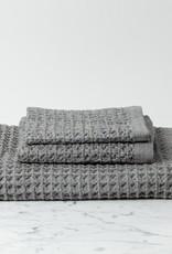 Lattice Waffle Bath Towel - Grey