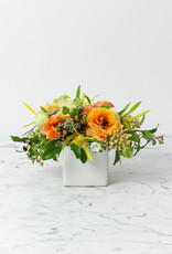 "The Foundry Home Goods Foundry Floral Bouquets - Various Colors and Styles - Medium - 3-4"" Vase"