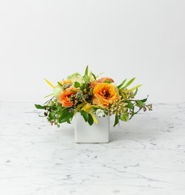 """The Foundry Home Goods Foundry Floral Bouquets - Various Colors and Styles - Medium - 3-4"""" Vase"""