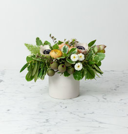 """The Foundry Home Goods Foundry Floral Bouquets - Various Colors and Styles - Large - 6"""" Vase"""