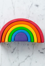 Grimm's Toys Rainbow - Large - 6 Piece Set - 6 1/2""