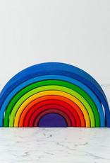 Grimm's Toys Rainbow Sunset - Large - 10 Piece Set - 12""