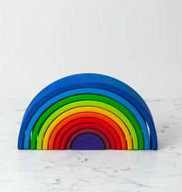"Grimm's Toys Rainbow Sunset - Large - 10 Piece Set - 12"""