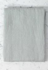 "Light Washed French Linen Waffle Bath Towel - Soft Cloud Grey - 40 x 62"""