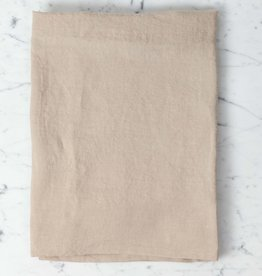 Washed French Linen Pillow Cover - Sand - 26 x 26""