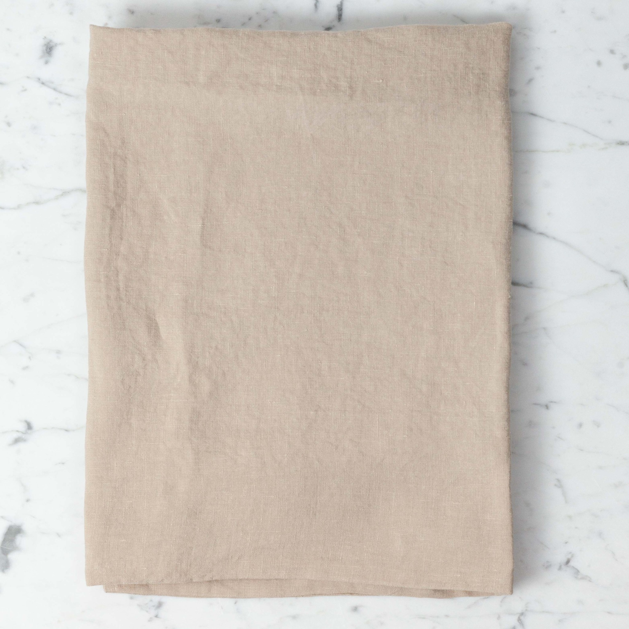 Linge Particulier Washed French Linen Pillow Cover - Sand - 26 x 26 in